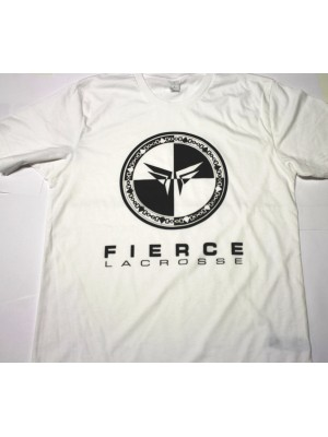 Fierce Lacrosse White T-Shirt