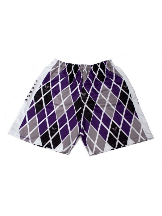 Fierce Argyle Sublimated Shorts