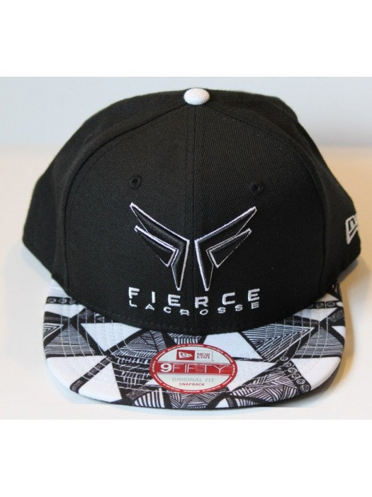 Fierce Lacrosse Snap Back Patterened