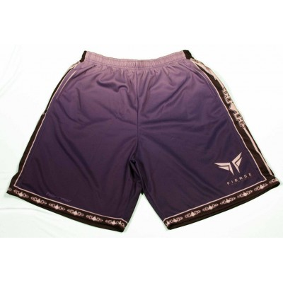 Fierce Faded Shorts Purple