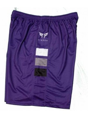 Fierce Lacrosse Purple Shorts
