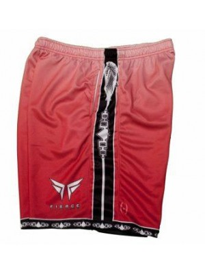 Fierce Faded Shorts Red