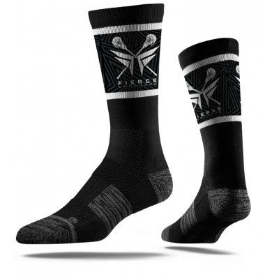 Fierce Lacrosse Socks Black
