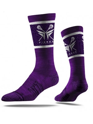 Fierce Lacrosse Socks Purple